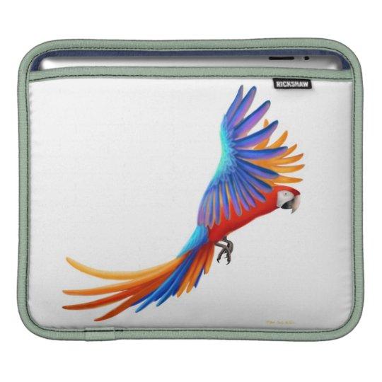 Flying Macaw Parrot Rickshaw Sleeve