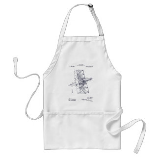 Flying Machine 1908 Adult Apron