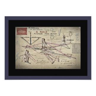 Flying Machine Glider Patent Card