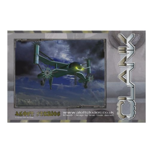 Flying Machine (large) Poster