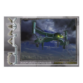 Flying Machine (small) Poster