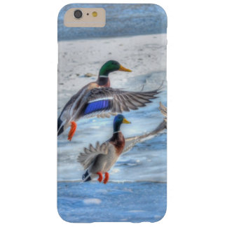 Flying Mallard Drake Wildlife Gift Barely There iPhone 6 Plus Case