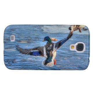 Flying Mallard Drake Wildlife Gift Samsung Galaxy S4 Case