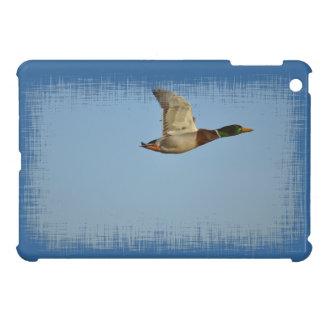Flying Mallard Duck Art for Wildlife lovers Case For The iPad Mini