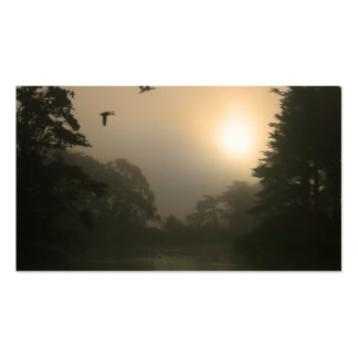 Flying Mallards and Morning Fog Business Card Templates