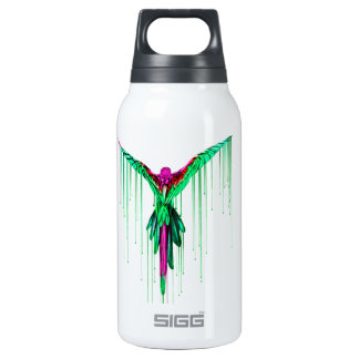 Flying Melting Parrot Insulated Water Bottle