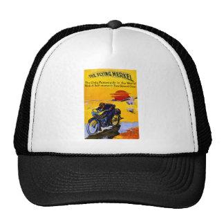 Flying Merkel 1913 - Vintage Motorcycle Ad Trucker Hat