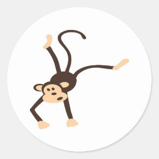 Flying Monkey Classic Round Sticker