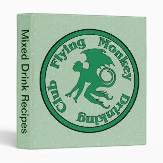 Flying Monkey Drinking Club Binder