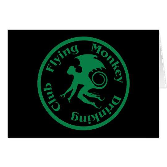 Flying Monkey Drinking Club Card
