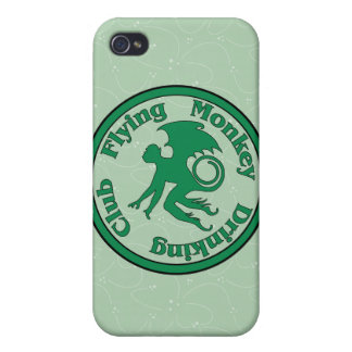 Flying Monkey Drinking Club Covers For iPhone 4