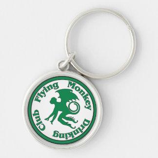 Flying Monkey Drinking Club Keychain