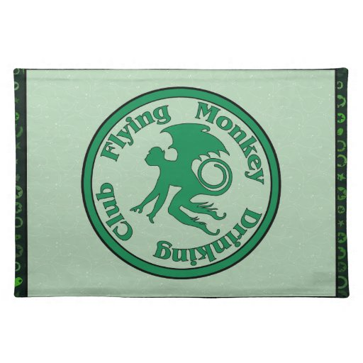 Flying Monkey Drinking Club Place Mats
