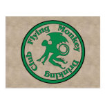 Flying Monkey Drinking Club Postcard