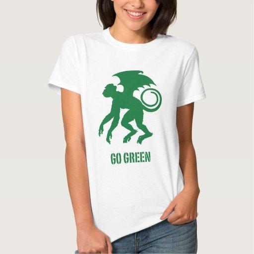 Flying Monkey Go Green Tshirt