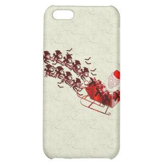 Flying Monkey Santa Case For iPhone 5C