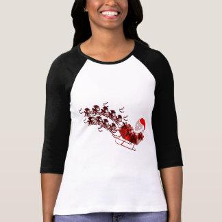 Flying Monkey Santa T-shirt
