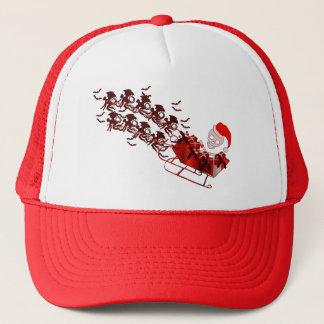 Flying Monkey Santa Trucker Hat