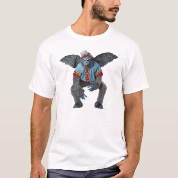 Halloween Themed Flying Monkey Tee Shirt