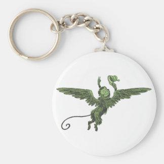 Flying Monkey, Wizard of Oz Basic Round Button Keychain