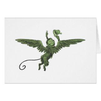 Flying Monkey, Wizard of Oz Card