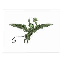 Flying Monkey, Wizard of Oz Postcard