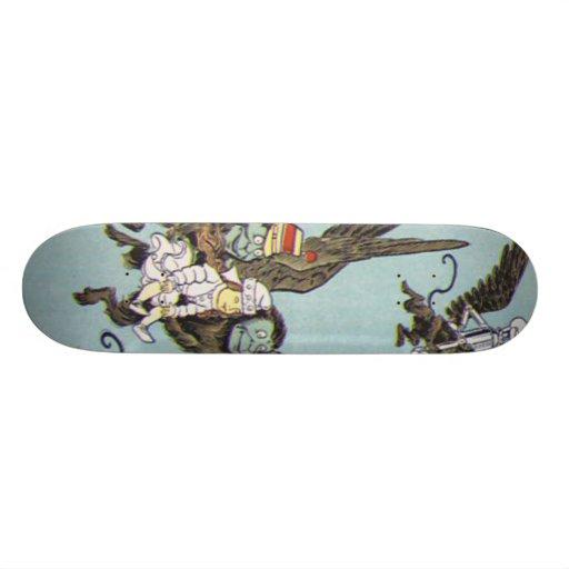 flying monkeys 2 skateboard deck