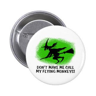 Flying Monkeys Pinback Buttons