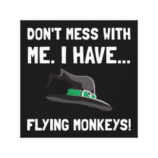 Flying Monkeys Canvas Print