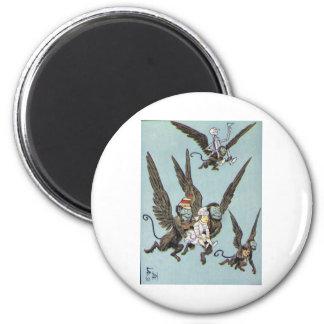 Flying Monkeys Color Magnet