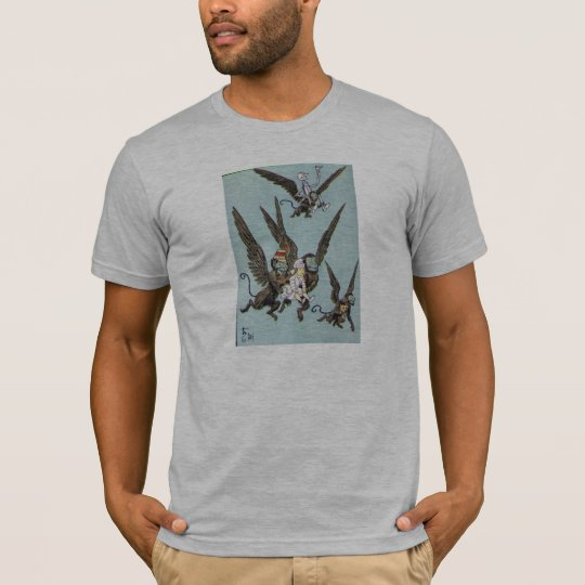 Flying Monkeys Color T-Shirt