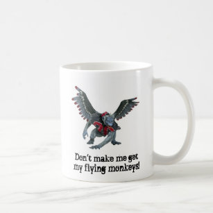e4914fb30 Flying Monkeys Coffee & Travel Mugs | Zazzle