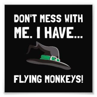 Flying Monkeys Photo Print