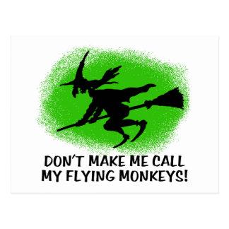 Flying Monkeys Post Card