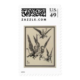 Flying Monkeys Postage
