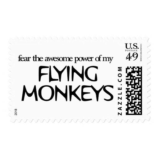 Flying Monkeys Postage Stamps