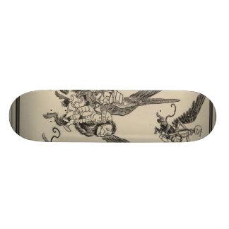 flying monkeys skateboard deck