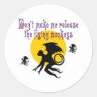 Flying Monkeys Stickers/Envelope Seals