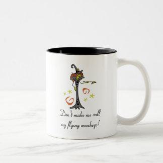 Flying Monkeys Two-Tone Coffee Mug
