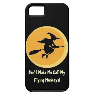 Flying Monkeys Witch (customizable) iPhone 5 Case