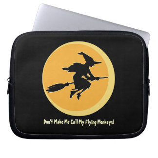 Flying Monkeys Witch (customizable) Computer Sleeve
