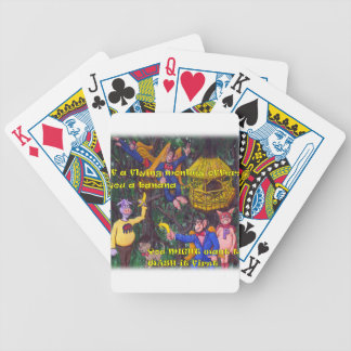 Flying Monkies Bicycle Playing Cards