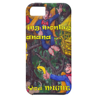 Flying Monkies iPhone SE/5/5s Case