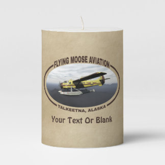 Flying Moose Aviation de Havilland DH3-C Otter Pillar Candle