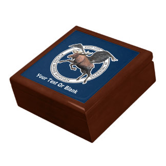 Flying Moose Aviation Jewelry Box
