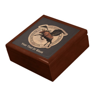 Flying Moose Aviation Patch Trinket Boxes
