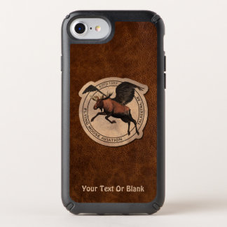 Flying Moose Aviation Patch Speck iPhone Case