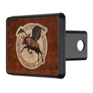 Flying Moose Aviation Patch Trailer Hitch Cover