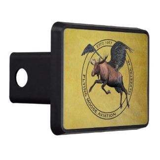 Flying Moose Aviation Trailer Hitch Covers