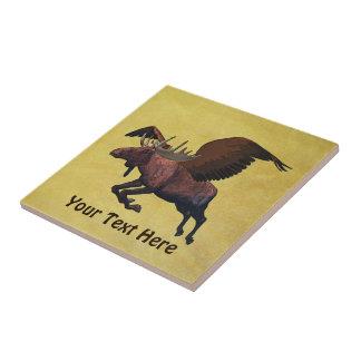 Flying Moose Tile